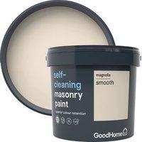 GoodHome Self-cleaning Magnolia Smooth Matt Masonry paint