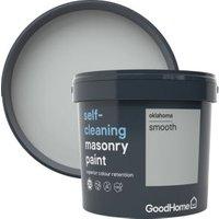 GoodHome Self-cleaning Oklahoma Smooth Matt Masonry paint 5L