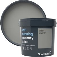 GoodHome Self-cleaning Hudson Smooth Matt Masonry paint 5L