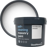 GoodHome Self-cleaning Pure brilliant white Smooth Matt Maso