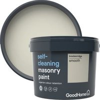 GoodHome Self-cleaning Breckenridge Smooth Matt Masonry pain