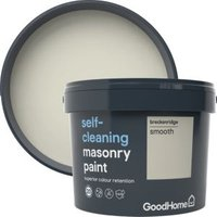 GoodHome Self-cleaning Breckenridge Smooth Matt Masonry paint 10L