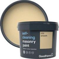 GoodHome Self-cleaning Aruba Smooth Matt Masonry paint  10L