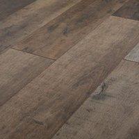 GoodHome Kirton Natural Oak effect Laminate flooring  2.13m² Pack