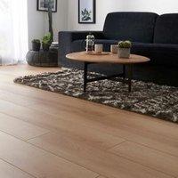 GoodHome Malton Natural Oak effect Laminate flooring  1.74m² Pack