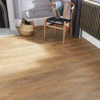 GoodHome Mossley Natural oak effect Laminate flooring 1.72m ² Pack