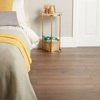 GoodHome Padiham Brown Dark oak effect Laminate flooring  1.64m² Pack