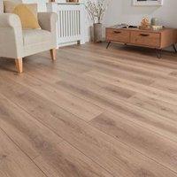 GoodHome Stoke Natural Oak effect Laminate flooring  1.73m² Pack