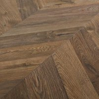 GoodHome Helston Natural Oak effect Laminate flooring  2.7m² Pack