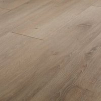 GoodHome Leiston Natural Oak effect Laminate flooring 1.75m ² Pack