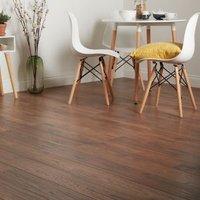 GoodHome Otley Brown Dark oak effect Laminate flooring  1.76m² Pack