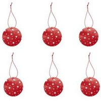 Red Stars Gift tags  Pack of 6