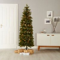 6ft Holimont Pop Up Pre-lit artificial Christmas tree