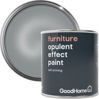 GoodHome Bel air Metallic Furniture paint 125ml