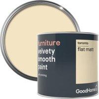 GoodHome Toronto Flat matt Furniture paint 500ml