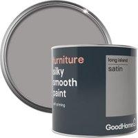 GoodHome Long island Satin Furniture paint 500ml