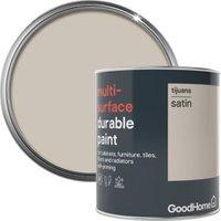 GoodHome Durable Tijuana Satin Multi-surface paint 750ml