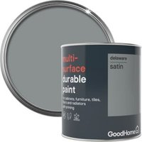 GoodHome Durable Delaware Satin Multi-surface paint 750ml