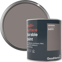 GoodHome Durable Cordoba Satin Multi-surface paint 750ml