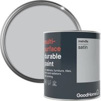 GoodHome Durable Melville Satin Multi-surface paint 750ml