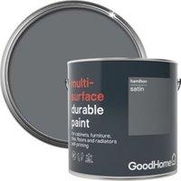 GoodHome Durable Hamilton Satin Multi-surface paint 2L