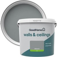 GoodHome Walls & ceilings Delaware Silk Emulsion paint 5L