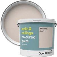 GoodHome Walls & ceilings Huntington Matt Emulsion paint 5L