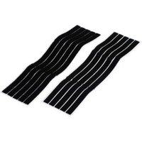 Diall Black Hook & loop cable ties (L)280mm  Pack of 5