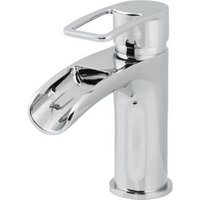 Cooke & Lewis Olmeto 1 Lever Waterfall basin mixer tap