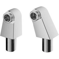 Cooke & Lewis Chrome plated Wall to deck adapter   Pack of 2