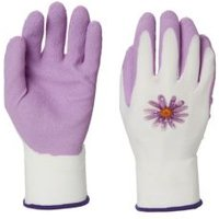 Verve Polyester (PES) Pink Gardening gloves  Small