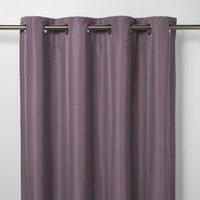 Klama Light purple Plain Blackout Eyelet Curtain (W)117cm (L)137cm  Single