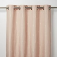 Melfi Light pink Floral Unlined Eyelet Curtain (W)167cm (L)183cm  Single