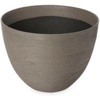 Momoka Round Grey Pot (H)300mm (Dia)400mm