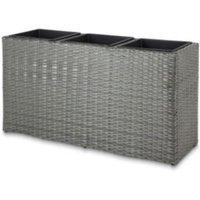 Sulana Rectangular Grey Pot (H)600mm (Dia)1150mm