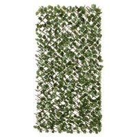 Fabric and willow Green Garden screen (H)1m (W)2m