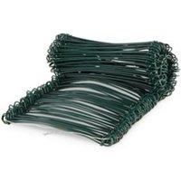 Blooma PVC & steel Garden screen link 13mm Pack of 200