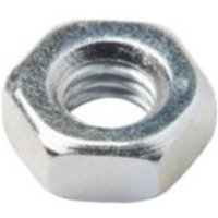 Diall M3 Carbon steel Hex nut  Pack of 20