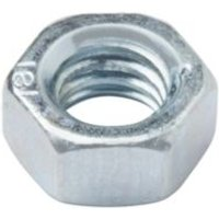 Diall M5 Carbon steel Hex nut  Pack of 20
