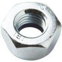 Diall M5 Carbon steel Hex cap nut  Pack of 20