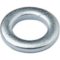Diall M6 Carbon steel Flat washer  Pack of 20