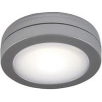 Silver Silver effect Battery-powered LED Under cabinet light