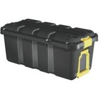 Skyda Black 68L Plastic Storage trunk