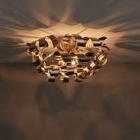 Spira Brushed chrome effect 3 Lamp Ceiling light