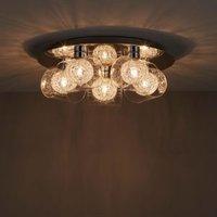 Camenae Chrome effect 5 Lamp Ceiling light