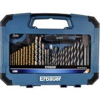 Erbauer 100 piece Mixed Drill bit Set