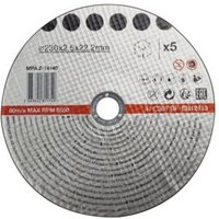 230mm Stone Cutting Disc  Pack of 5
