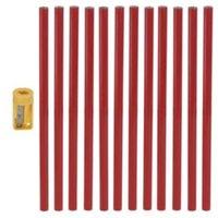 Red Carpenter Pencil  Pack of 12
