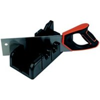 MAGNUSSON MITRE BOX AND SAW.
