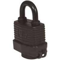 Smith & Locke Laminated steel Cylinder Steel open shackle Padlock (W)59mm